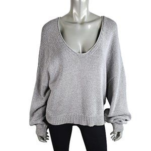 Free People Womens Oversized Sweater Size L
